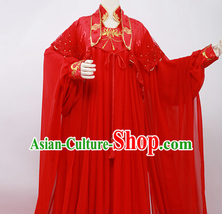 Ancient Chinese Stage Palace Bridal Outfits National Costume Halloween Costumes Hanfu Chinese Dresses Chinese Clothing
