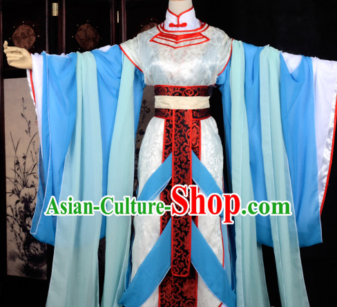 Ancient Chinese Stage Palace Maid Costume National Costume Halloween Costumes Hanfu Chinese Dresses Chinese Clothing