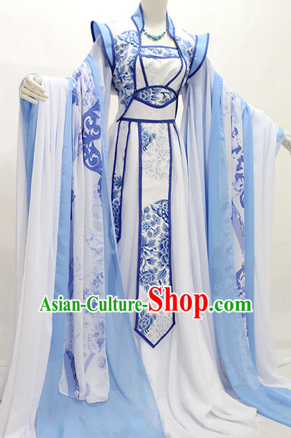 Ancient Chinese Stage Palace Imperial Costume National Costume Halloween Costumes Hanfu Chinese Dresses Chinese Clothing