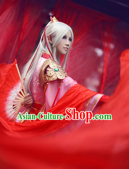 Chinese Ancient Royal Costume National Costumes Stage Play Dramas Drama Costume
