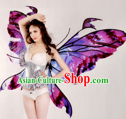 Unique Design Butterfly Stage Costumes Theater Costumes Professional Theater Costume for Women
