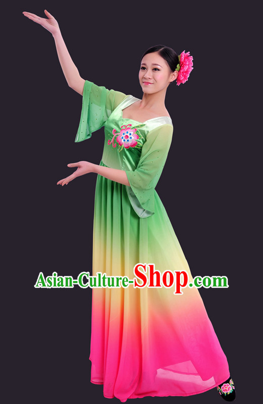 Happy Festival Chinese Minority Dress Han Uniform Traditional Stage National Costume Sale