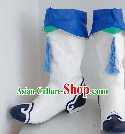 Chinese High Quality Cosplay Suphero Supheroine Long Boot Boots