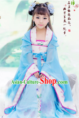 Traditional Chinese Costume Chinese Classical Clothing Princess Garment and Headpieces Complete Set for Women