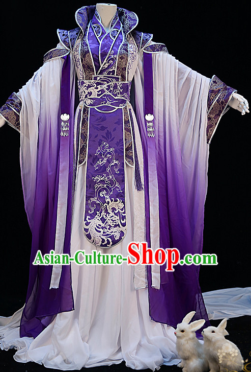 Ancient Chinese Princess Dresses Hanzhuang Han Fu Han Clothing Traditional Chinese Dress Hanfu National Costumes and Hair Jewelry Complete Set for Women or Girls