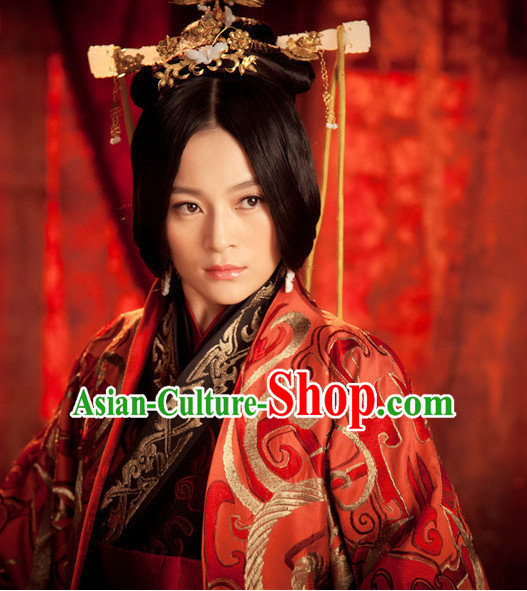 Chinese Ancient Imperial Headpieces Hair Ornaments Set