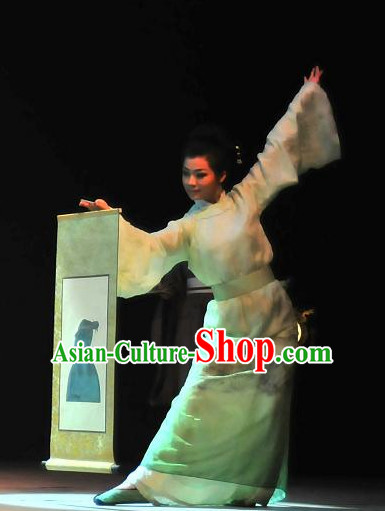China Ancient Tang Dynasty Opera Costume Drama Stage Costumes Complete Set