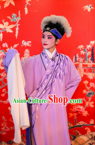 China Beijing Opera Peking Opera Xu Xian Costume Embroidered Robe Opera Costumes