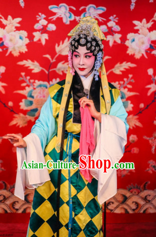 China Beijing Opera Peking Opera Costume Embroidered Robe Hua Dan Taoist Opera Costumes