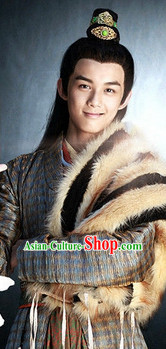 Chinese Ancient Men Black Wigs