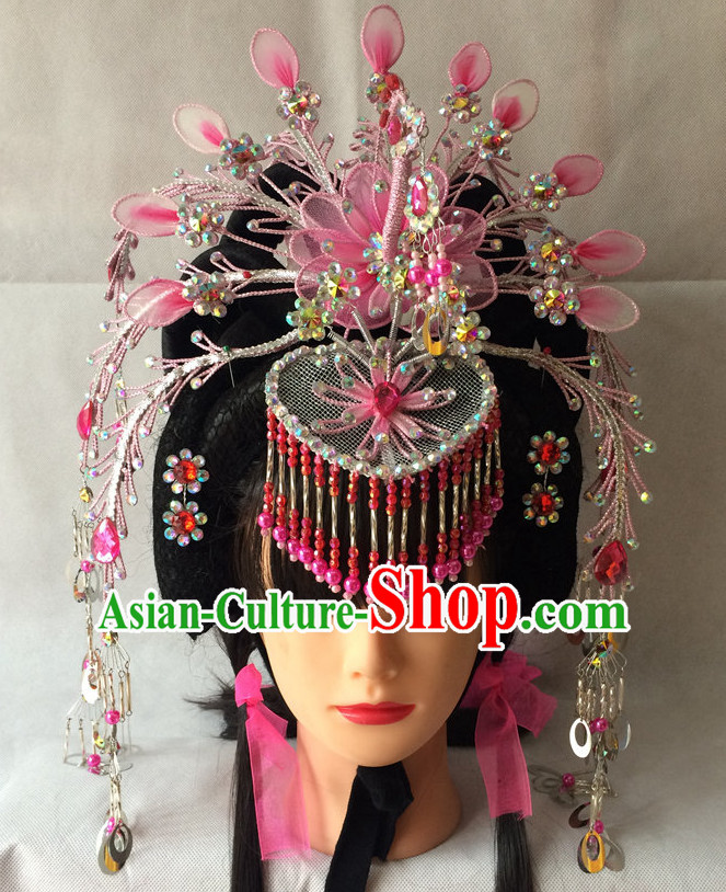 China Beijing Opera Phoenix Headpieces Hat Coronet for Women