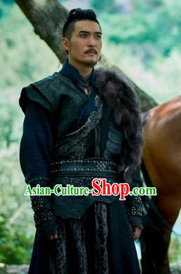 Chinese Ancient Knight Clothes Suit Complete Set