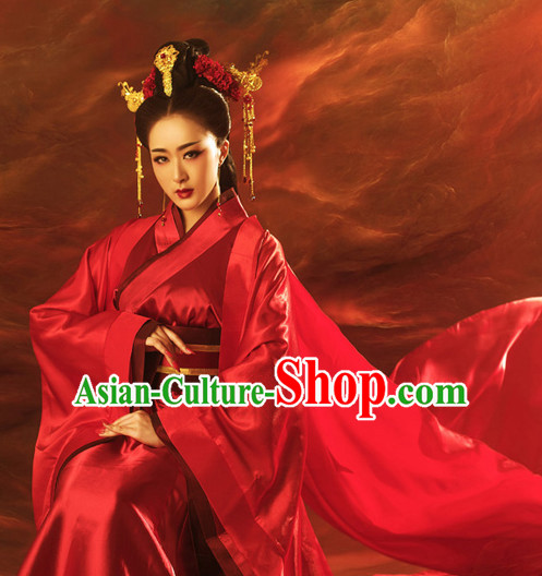 Ancient Chinese Princess Women Costumes Costume Traditional Chinese Fairy Hanfu Han Fu Costumes Ancient Cosplay Complete Set