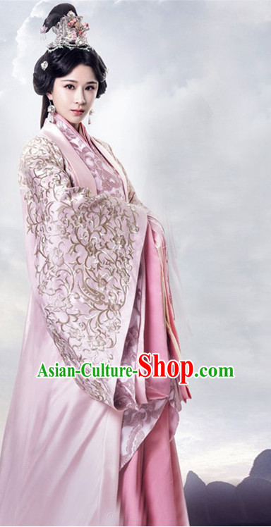 Ancient Chinese Princess Woman Costumes Costume Traditional Chinese Fairy Hanfu Han Fu Costumes Ancient Cosplay Complete Set