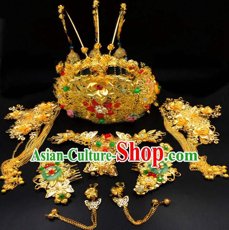 Chinese Handmade Wedding Hair Accessories