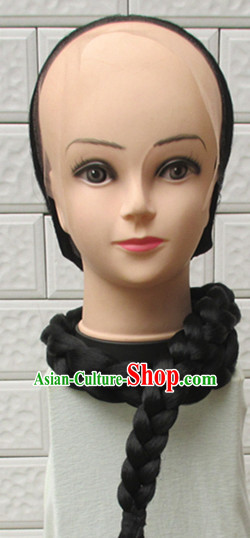 Qing Dynasty Kung Fu Master Wig for Men or Boys