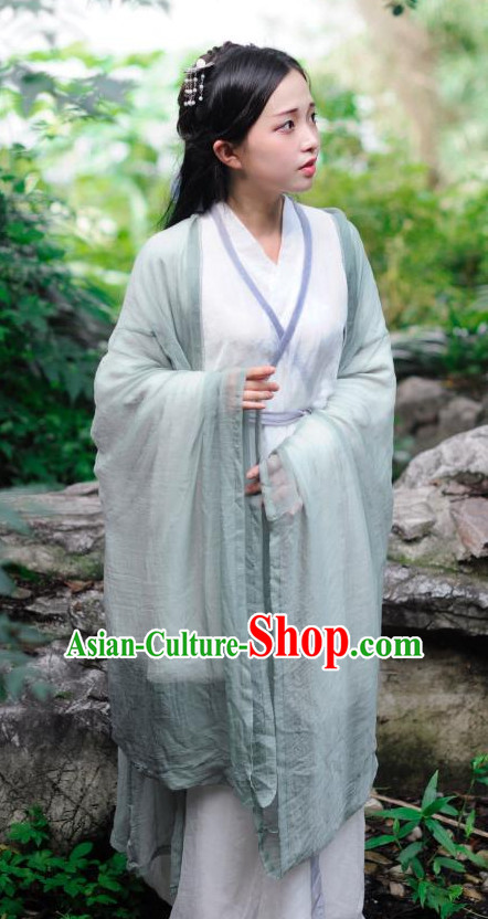 Ancient Chinese Women Clothing Traditional Hanfu Hanbok Kimono Dress National Costume Dresses Complete Set