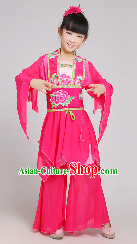 Chinese Dance Costume Ribbon Dance Costumes Fan Dance Dancer Dancing Dresses