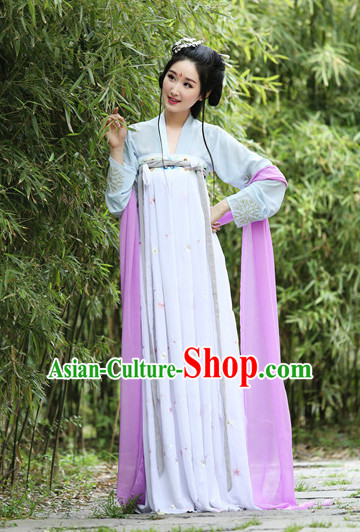 Purple Ancient Chinese Women Dresses Hanfu Girls China Classical Clothing Histroical Dress Traditional National Costume Complete Set