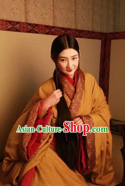 Special Events Han Dynasy Princess Ancient Chinese Dresses Traditional Royal Stage Hanfu Classical Dress Costumes Clothing