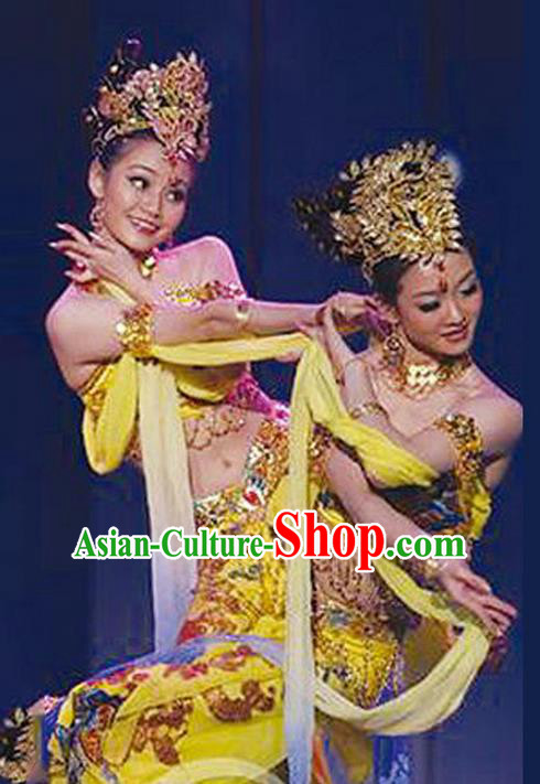 Traditional Chinese Yangge, Fan Dancing Wholesale Costume, Folk Dance Yangko Costume, Traditional Chinese Nationality Flying Dancewear for Women