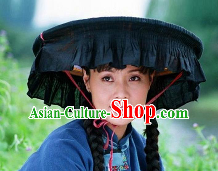 Traditional Chinese Chinese Miao Nationality Hats for Women
