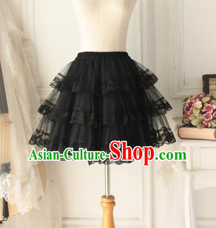 Traditional Classic Women Clothing, Traditional Classic Palace Lace Skirt for Women