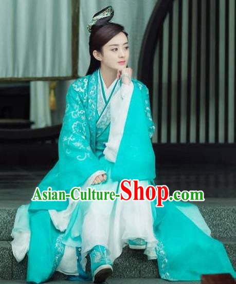 Traditional Chinese Ancient Costumes, Ancient Chinese Cosplay Swordswomen Knight Costume Complete Set for Women