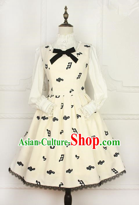 Traditional Classic Elegant Women Costume Woolen One-Piece Dress, Restoring Ancient Wool Embroidered Dress for Women