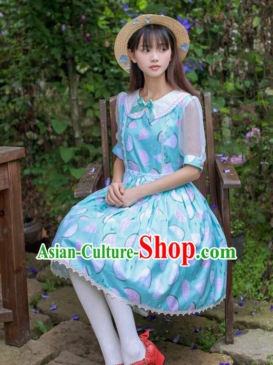 Traditional Classic Elegant Women Costume One-Piece Dress, Restoring Ancient Sweet Dress for Women