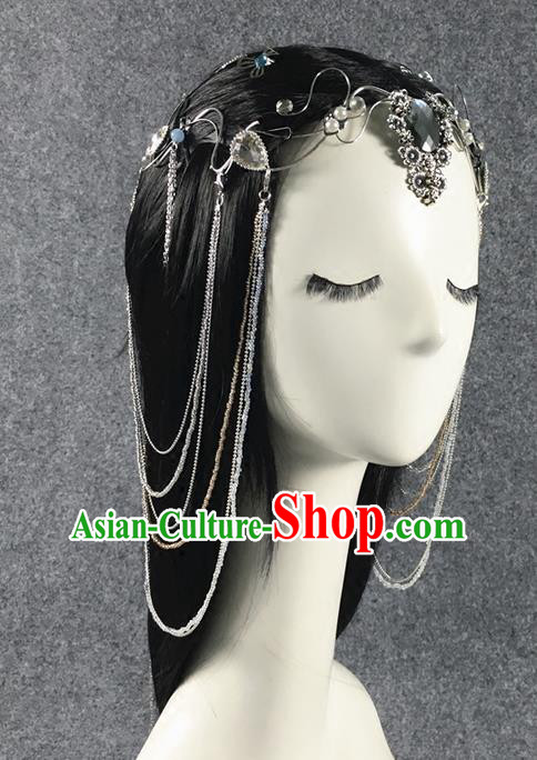 Traditional Chinese Ancient Jewelry Accessories, Ancient Chinese Hair Accessories Imperial Hairpin Crystal Hair Comb for Women