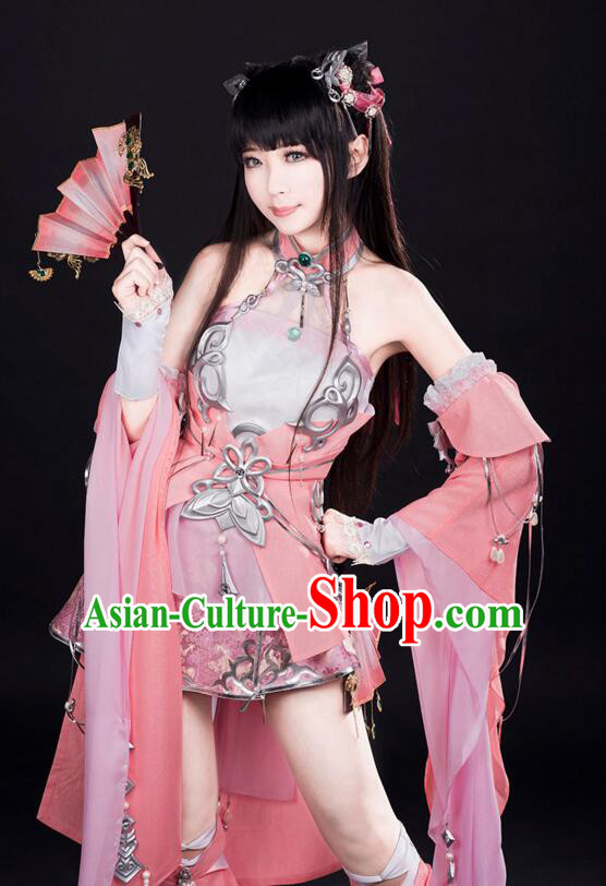 Chinese COSPLAY for Girl Fairy Costume Garment Chinese Tradtional Dress Costumes Dress Adults Cos Asian King Clothing