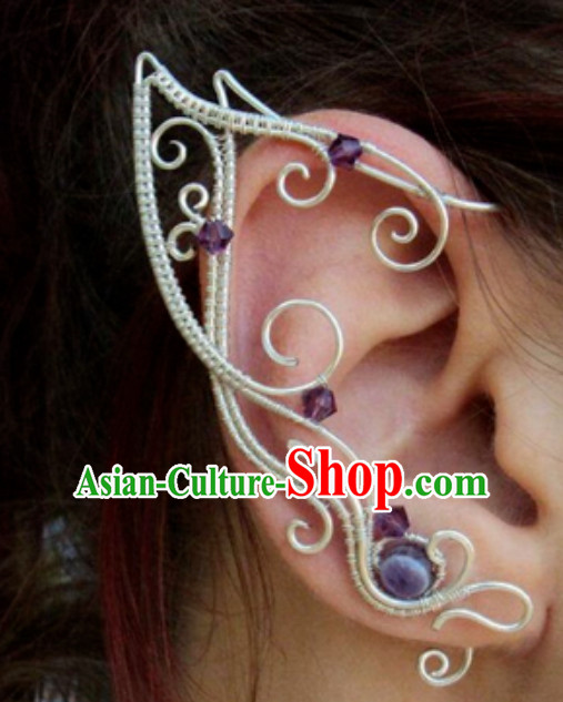 Handmade Ice Fantasy Drama Prince Ear Accessories
