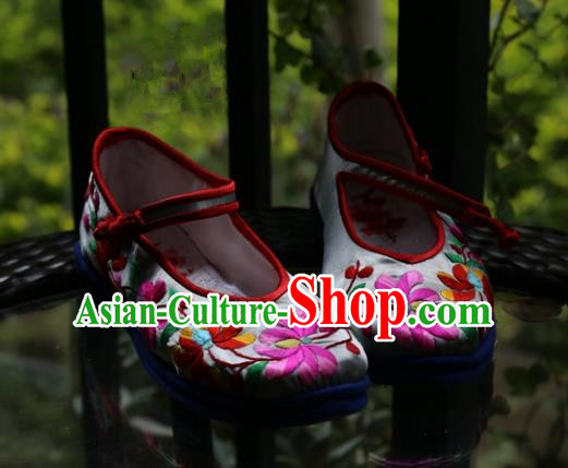 Chinese Ancient Peking Opera Embroidered Shoes Traditional Chinese Beijing Opera Props princess shoes