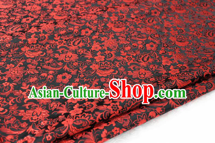Chinese Traditional Ancient Costume Palace Pattern Cheongsam Brocade Tang Suit Satin Cheongsam Fabric Hanfu Material