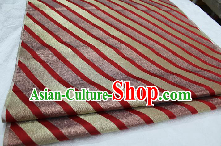 Chinese Traditional Clothing Palace Pattern Cheongsam Brocade Ancient Costume Mongolian Robe Satin Fabric Hanfu Material