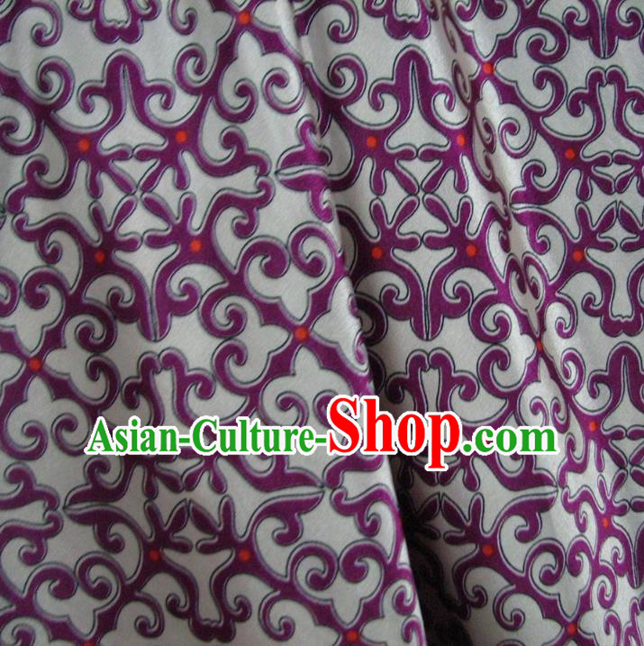 Chinese Traditional Royal Palace Pattern Design Brocade Fabric Ancient Costume Tang Suit Cheongsam Hanfu Material
