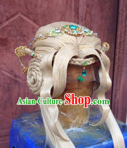 Chinese Traditional Ancient Princess Hair Accessories Handmade Hairpins Hair Clasp for Women