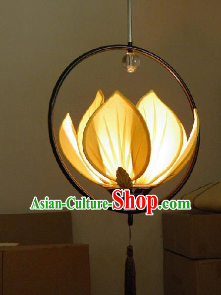 Traditional Chinese Handmade Palace Lantern China Ceiling Lotus Palace Lamp
