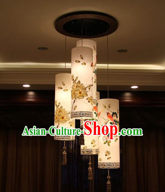 Traditional Chinese Handmade Painting Palace Lantern China Ceiling Palace Lamp
