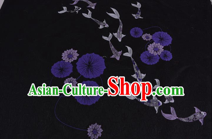 Chinese Traditional Costume Royal Palace Jacquard Weave Brocade Fabric, Chinese Ancient Clothing Drapery Hanfu Cheongsam Material