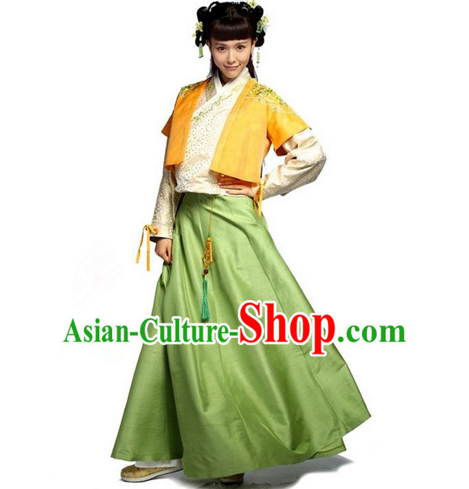 Traditional Ancient Chinese Imperial Empress Costume, Chinese Ming Dynasty Princess Dress, Cosplay Chinese Peri Concubine Hanfu Clothing for Women