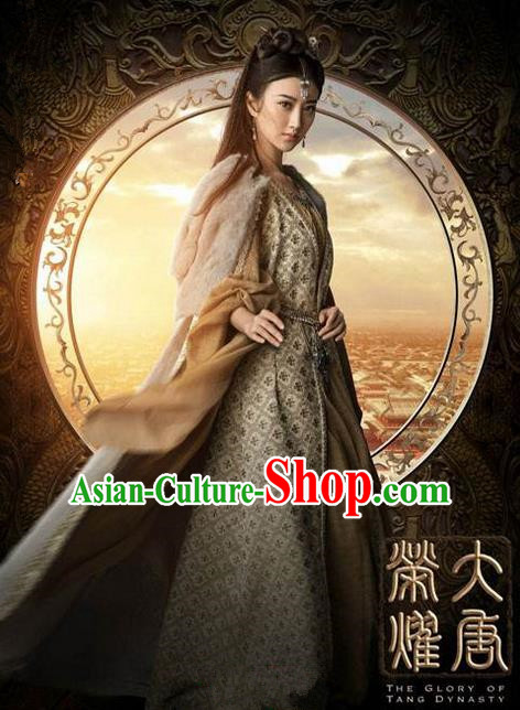 Traditional Ancient Chinese Female Costume Swordsman Uniform Complete Set, Chinese Tang Dynasty General Armour Clothing for Women