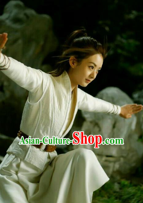 Traditional Ancient Chinese Imperial Bodyguard Costume, Elegant Hanfu Swordswoman Dress, Chinese Swordsman Cosplay Clothing for Women