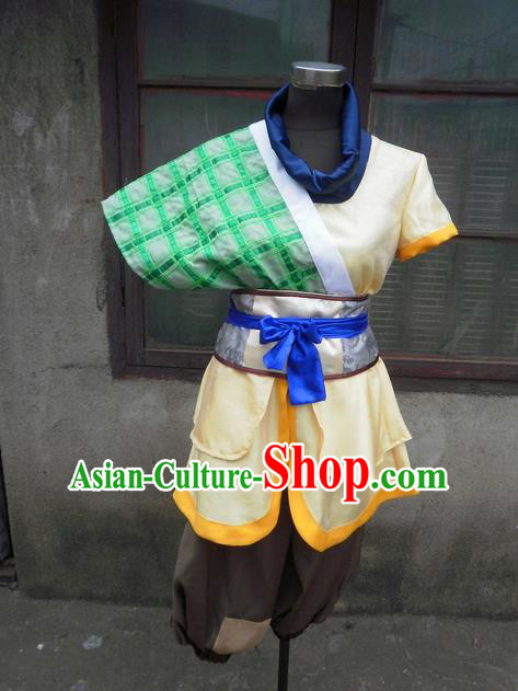 Traditional Ancient Chinese Classical Cartoon Character Uniform Cosplay Swordsman Hanfu Game Role Complete Set for Men