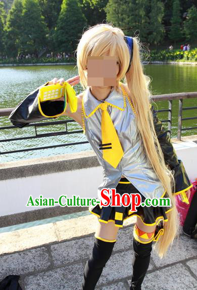Japanese Cartoon Character Swordsman Swordmen Costumes Complete Set for Women