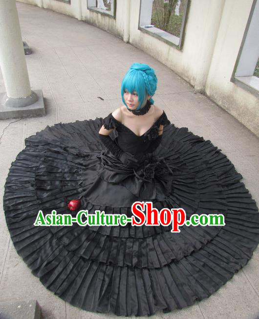 Japanese Cartoon Character Swordsman Full Dress Swordmen Costumes Complete Set for Women