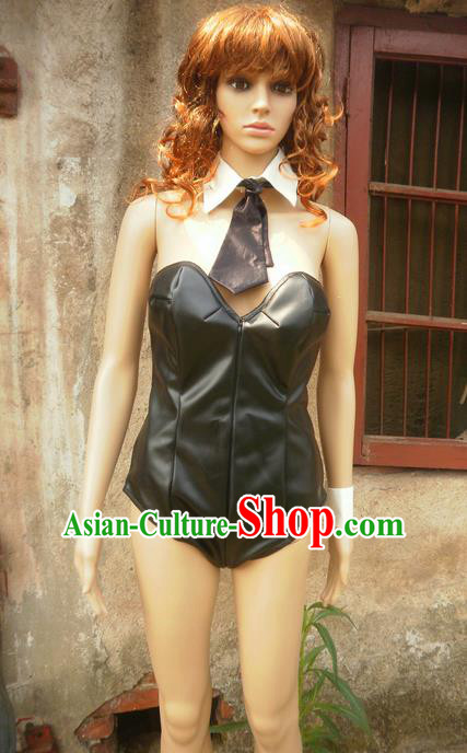 Classical Cartoon Character Cosplay Bunny Girl Costumes Complete Set for Women