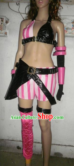 Classical Cartoon Character Cosplay Shooter Girl Costumes Complete Set for Women