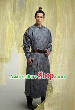 Traditional Ancient Chinese Imperial Emperor Costume, Chinese Tang Dynasty King Dress, Cosplay Chinese Imperial Majesty Swordsman Embroidered Clothing for Men